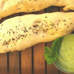 Naan and Mint Chutney
