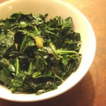 Spiced Collard Greens in Mustard Oil