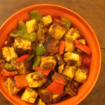 Tandoori Paneer and Peppers Curry