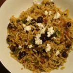 Tamarind Rice with Black Beans & Cotija Cheese
