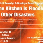 Serving Eats & Raffling Off Indian Cooking Class for Work It Brooklyn / Brooklyn Based Sandy Fundraiser, PLUS More Ways To Help