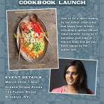 Vibrant India Cookbook Launch Party
