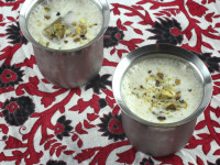 egg nog with an Indian twist
