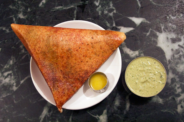 Masala Dosa at MTR