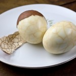 Marbled Tea Eggs from The Chinese Takeout Cookbook + Cookbook Giveaway