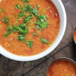 Heirloom Tomato Rasam (Saaru)