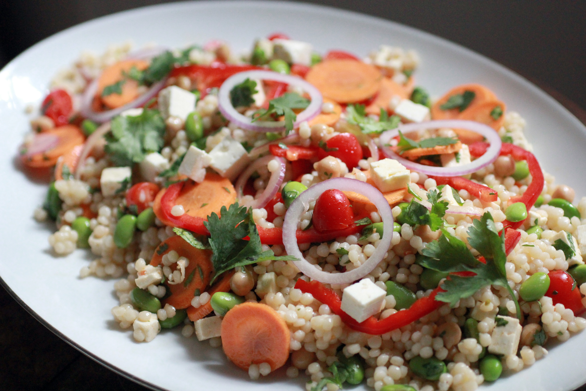 Quick Israeli Couscous Salad Recipe | The ABCD's of Cooking | ABCD's ...