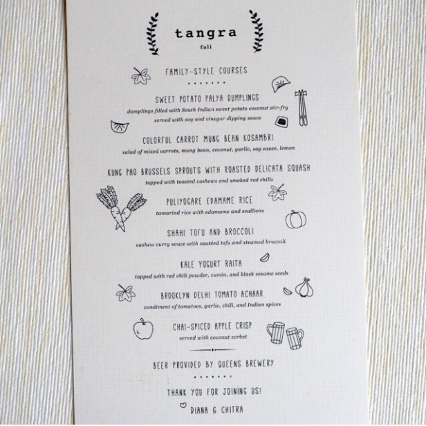 Indian-Chinese Menu