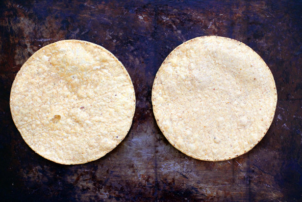 tostadas from bushwick tortilla factory in Brooklyn