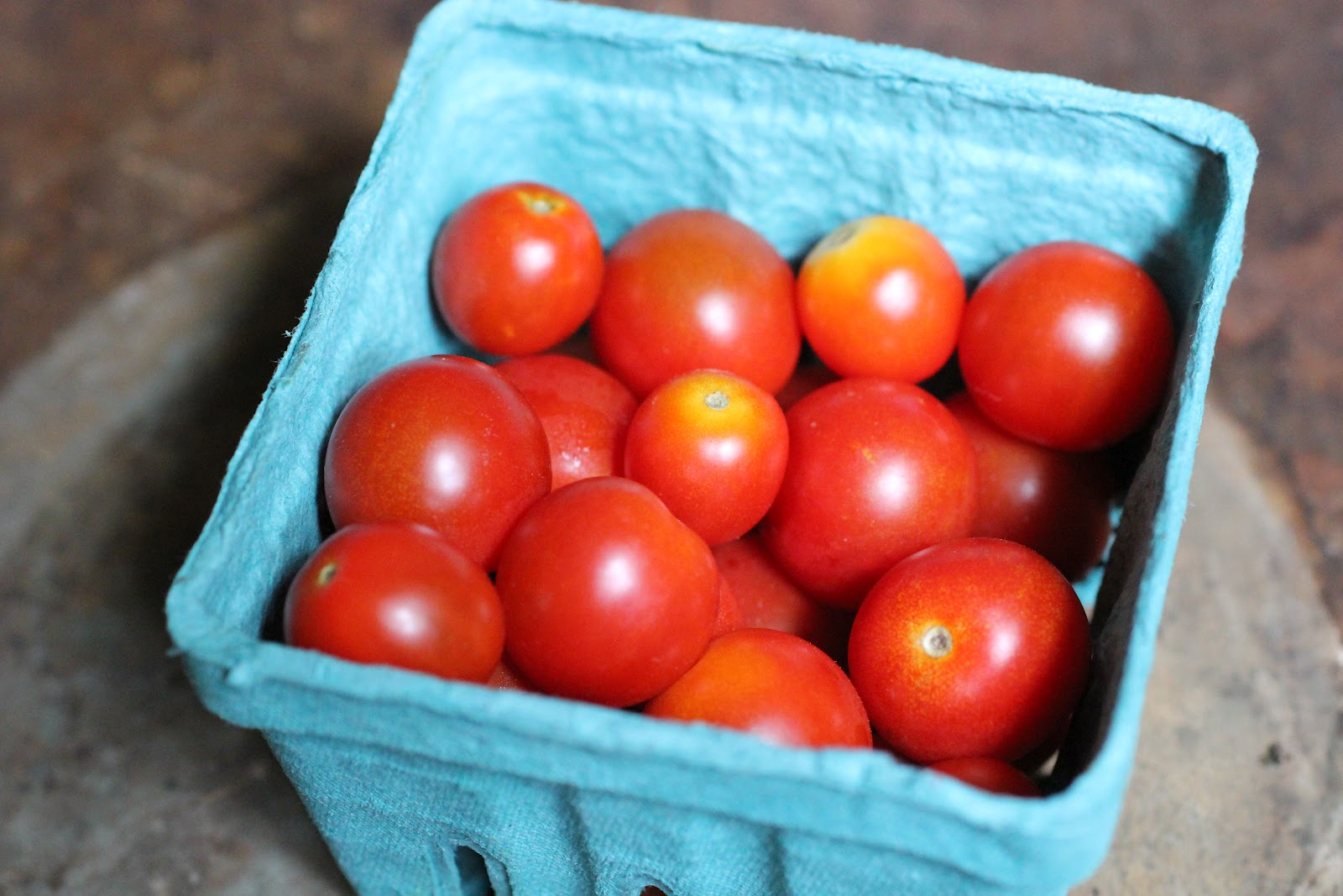 farm fresh cherry tomatoes